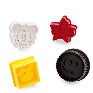 Mickey Mouse Cookie Cutter Stamp Set - Disney Eats